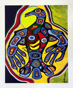 THUNDERBIRD WITH INNER SELF (print) - NORVAL MORRISSEAU