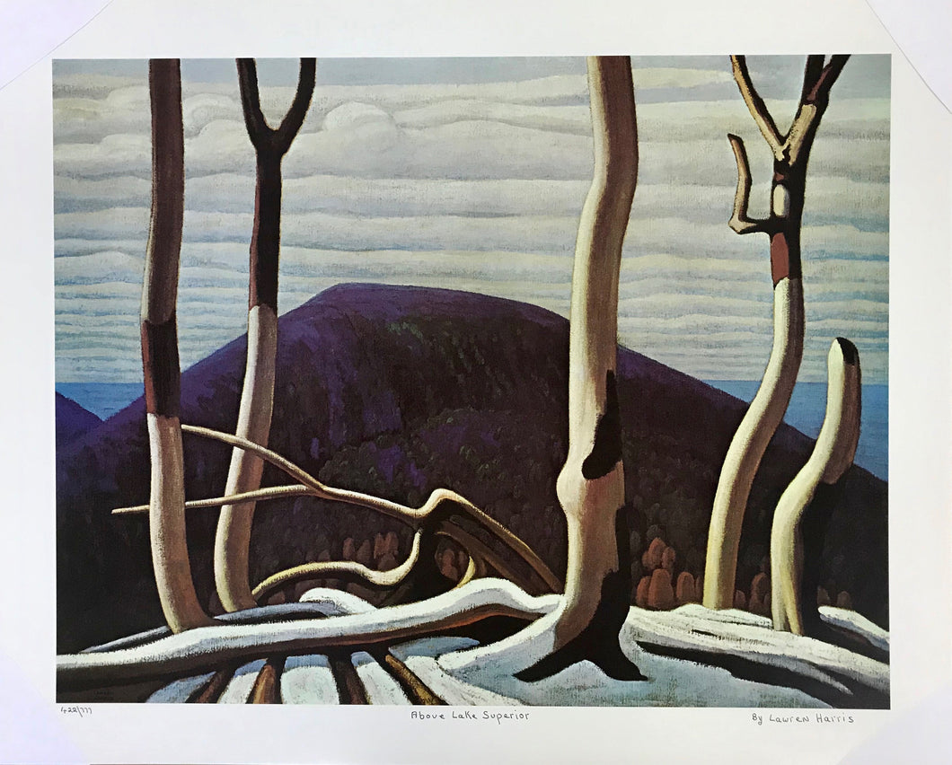 ABOVE LAKE SUPERIOR (print) LAWREN HARRIS