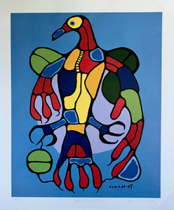 ASTRAL THUNDERBIRD  (print) - NORVAL MORRISSEAU