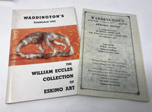 Load image into Gallery viewer, WADDINGTON' S AUCTION CATALOGUE  WILLIAM ECCLES COLLECTION
