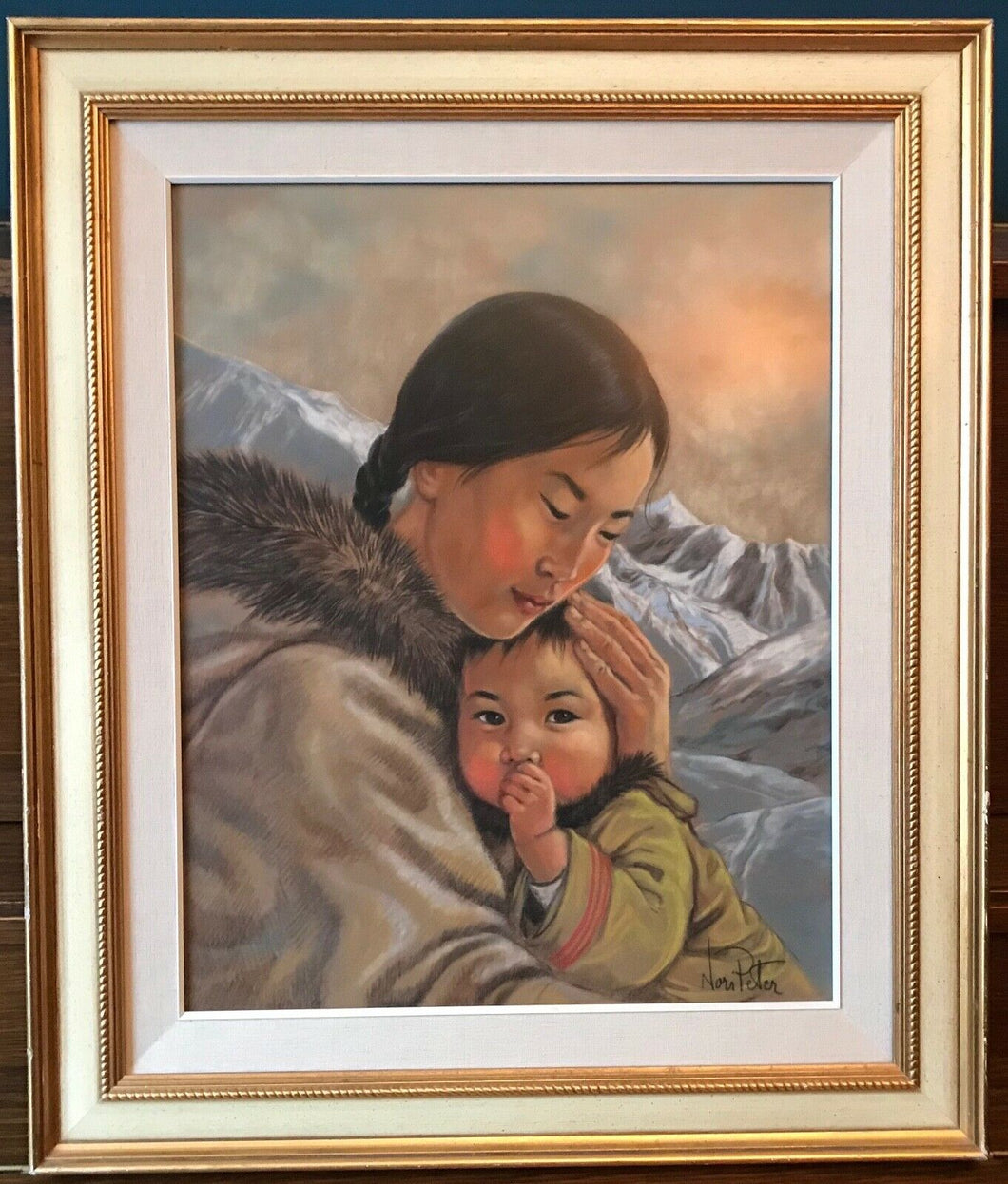 MOTHER AND CHILD - NORI PETER