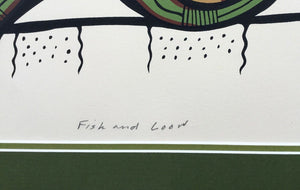 FISH AND LOON - JOSH KAKEGAMIC