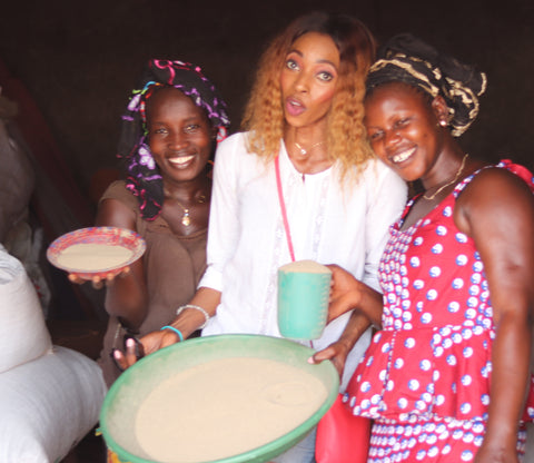 Juka and women partner in villages