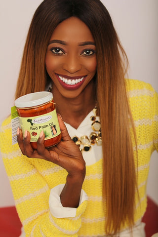 Juka's Organic red palm oil and clean beauty buy online toda