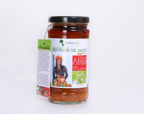 Red Palm Oil Sauce -12oz - Mild