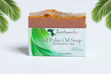 "Red Palm Oil Soap (Hydrating & Anti-Aging ""Lavender Blend"")"