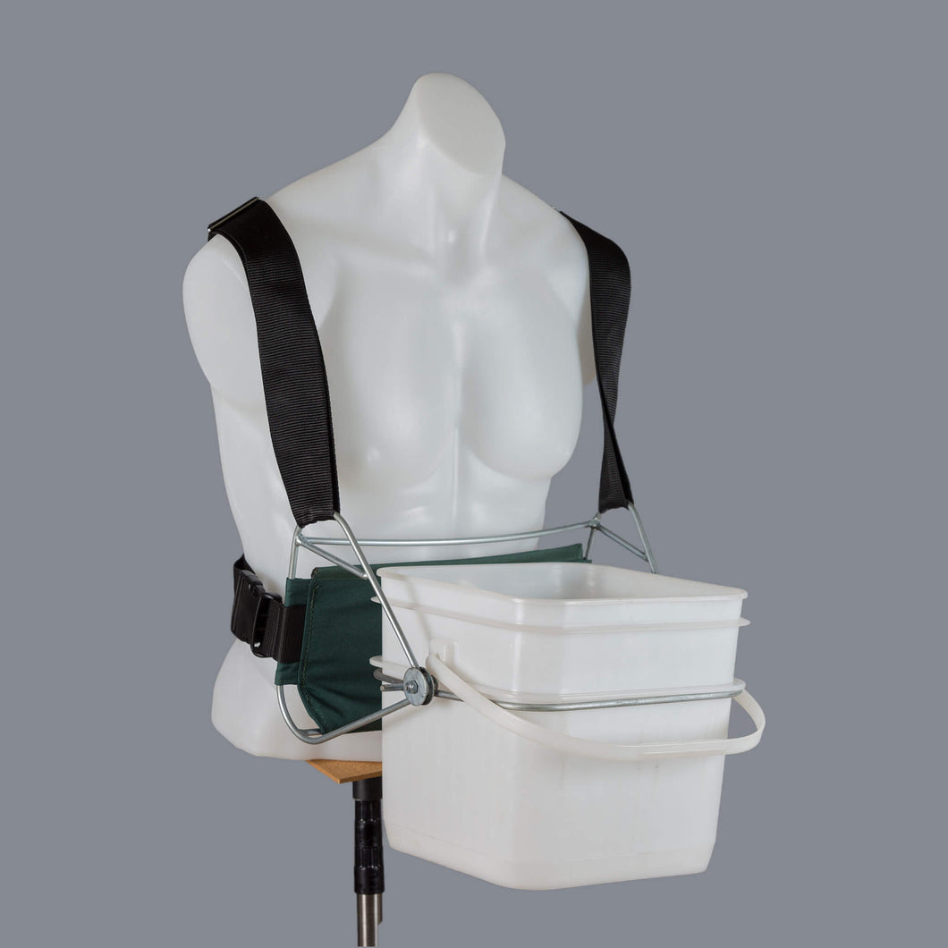 Cherry Harvester with Full Support Comfort Harness - Fits 10L Cherry Pail (Not Included)