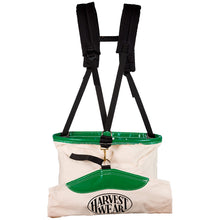 "Load image into Gallery viewer, ""Hoopbag"" 33L Large Soft Shell Picking Bag with 3-point Harness"