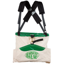"Load image into Gallery viewer, ""Hoopbag"" 40L Standard Soft Shell Picking Bag with 4-point Harness"