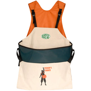 """Picker's Choice"" 33L Premium Soft Shell Picking Bag with Support+ Harness"