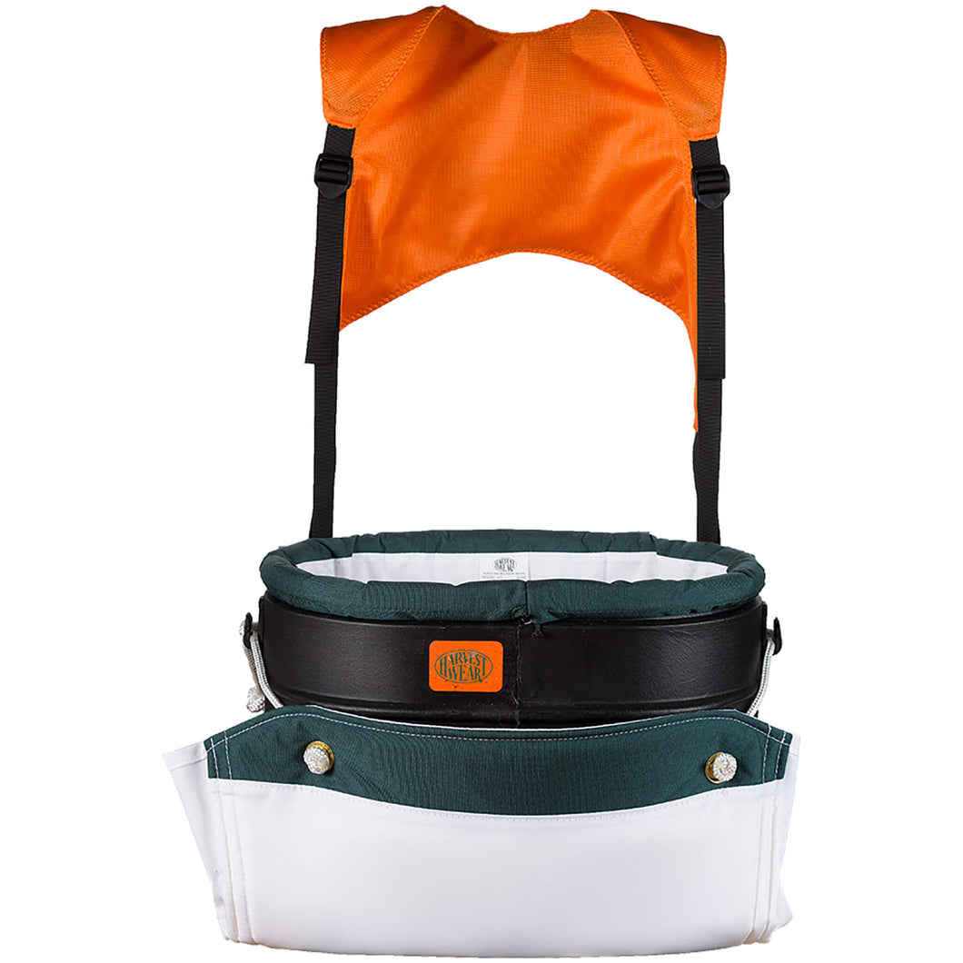 Harvestwear 28L Regular Hard Shell Apple Picking Bucket with Support+ Harness