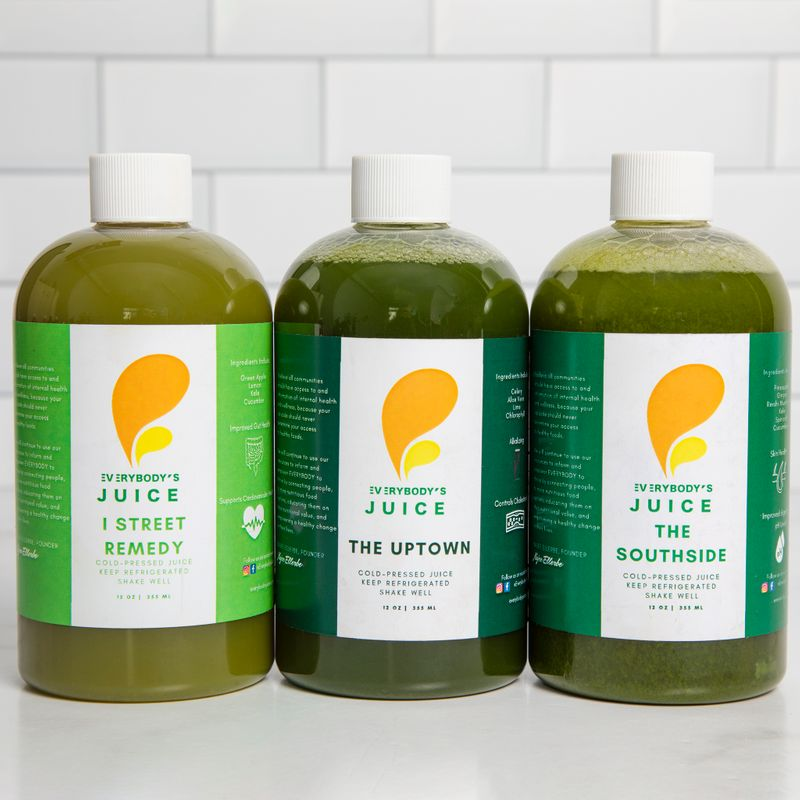 Daily Green Juice Wellness Pack