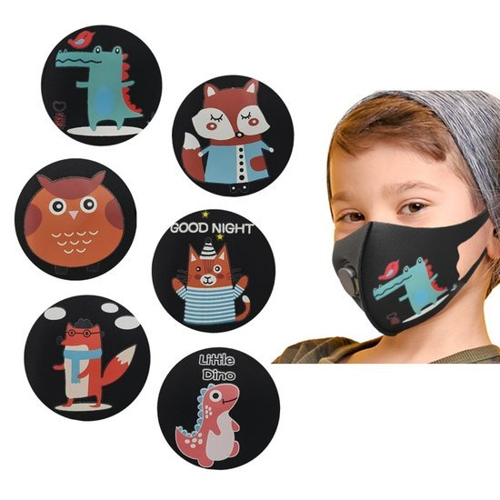 ANIMAL PATTERN BOY MASK