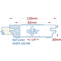 Rail Profile Cutterhead