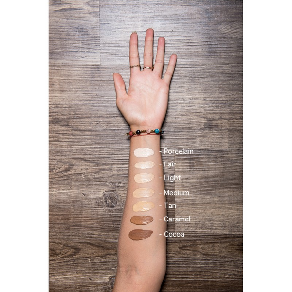 PHB Bare Skin BB Cream - 6 shades (SPF15) and Foundation Brush Kit