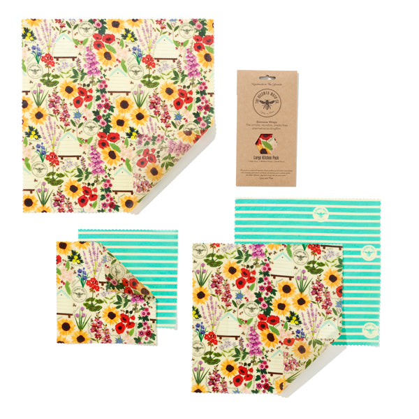 Beeswax Wrap Co. - Large Kitchen Pack