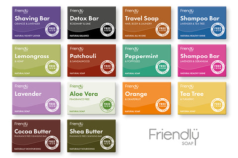 Friendly Soap - All varieties separates