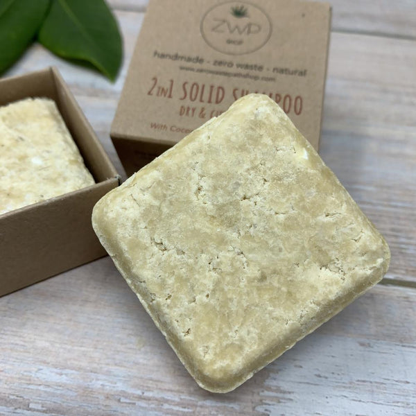 Solid Shampoo bars 2in1
