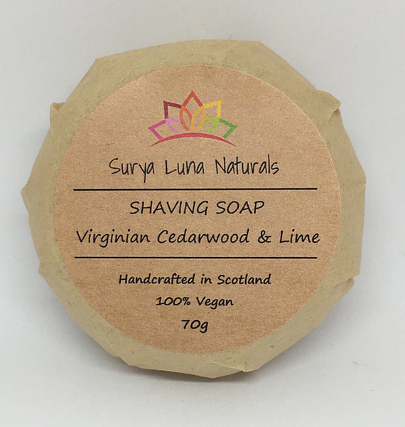 Cedarwood and Lime Shaving Soap