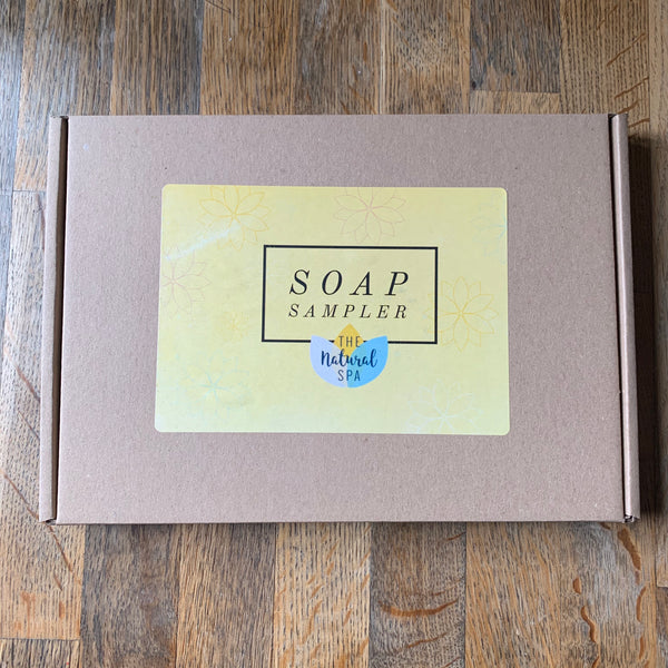 The Natural Spa - Soap Sampler Gift Box