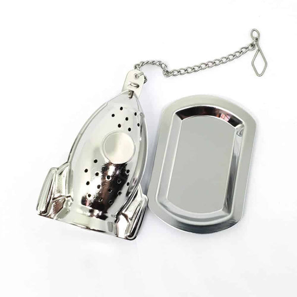 Rocket Tea Infuser with Tray