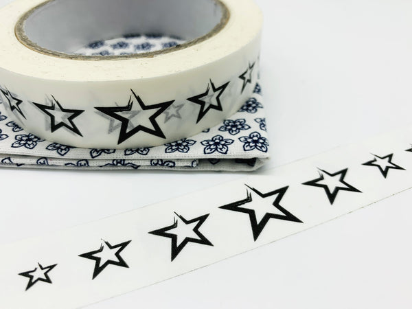 Biodegradable Paper sticky tape (Stars)
