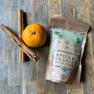 The Natural Spa - Spice Orange Bath Soak