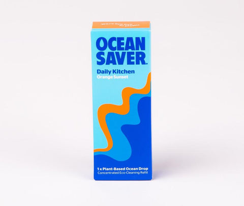 Ocean Saver Cleaning Kitchen - Orange Wave