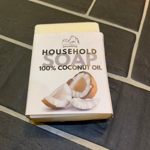 Coconut oil Household & dish soap solid bar
