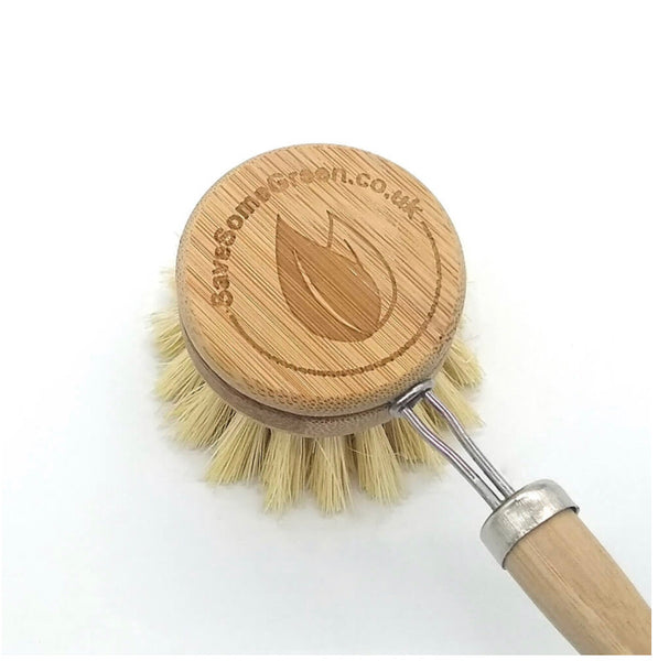 Bamboo washing up brush - refill