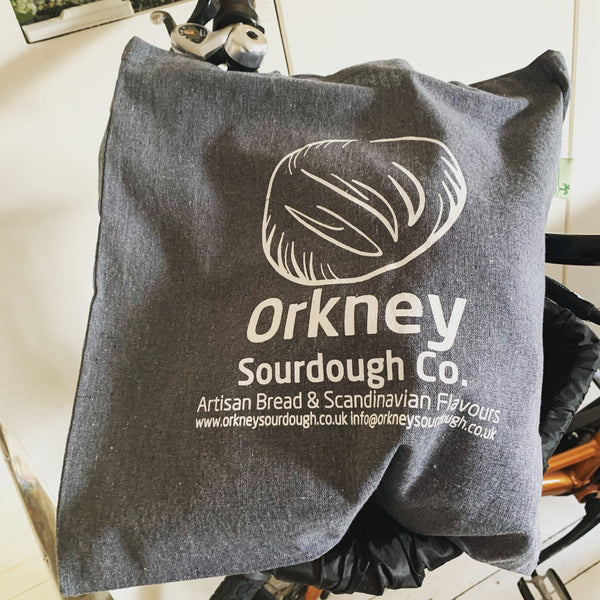Orkney sourdough Co. Recycled cotton tote bag