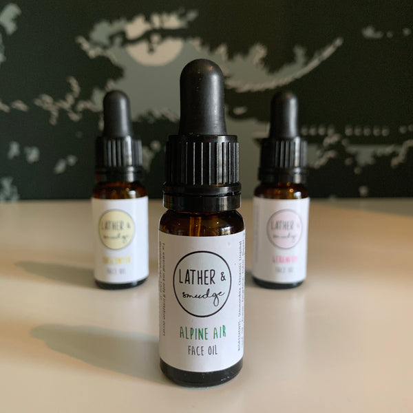 Lather & smudge - face oil