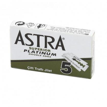 Astra safety razor blades - 5 pack