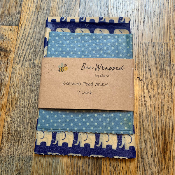 Bee wrapped - sandwich wraps (2 pack)