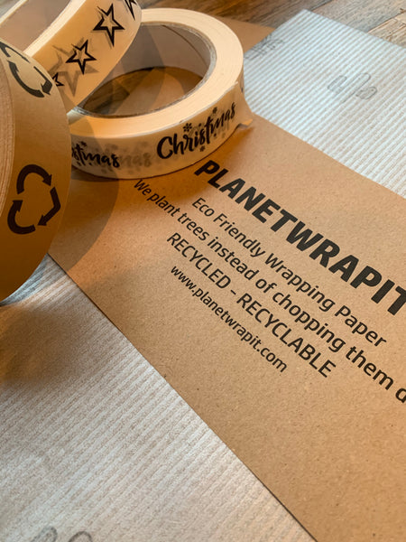 Recycled Kraft Paper Gift Wrapping (Occassion)