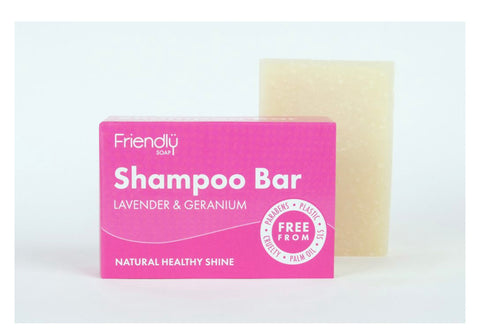 Friendly Soap - Solid shampoo hair care separates
