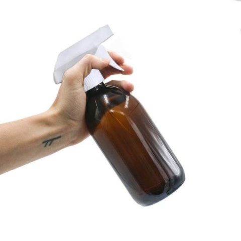 Glass Trigger Spray Cleaning Bottle