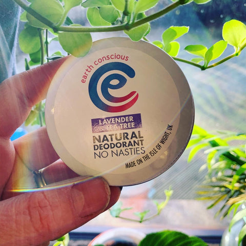 Earth Conscious Deodorant - Tin