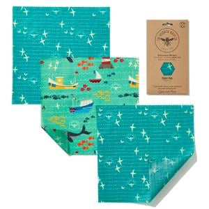 Beeswax Wrap Co. Wax Food Wraps - Cheese Pack