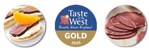 Capreolus Taste of the West Gold Awards 2020 English Charcuterie