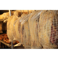 Dorset air-dried ham. Local woodland-reared rare-breed pigs