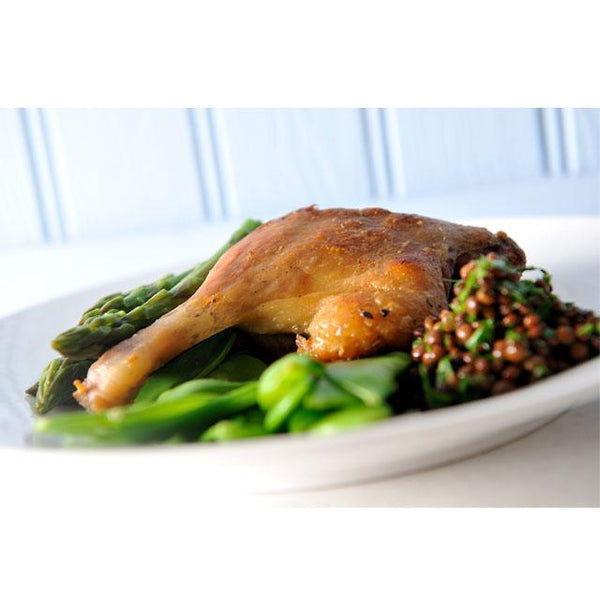 Capreolus' Duck Confit - Perfect for an elegant dinner party and easy and quick to prepare. Dorset artisan charcuterie producer.