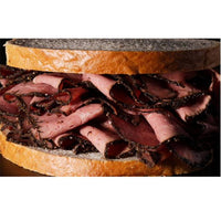 Pastrami - Beech smoked and slowly cooked salt beef Capreolus
