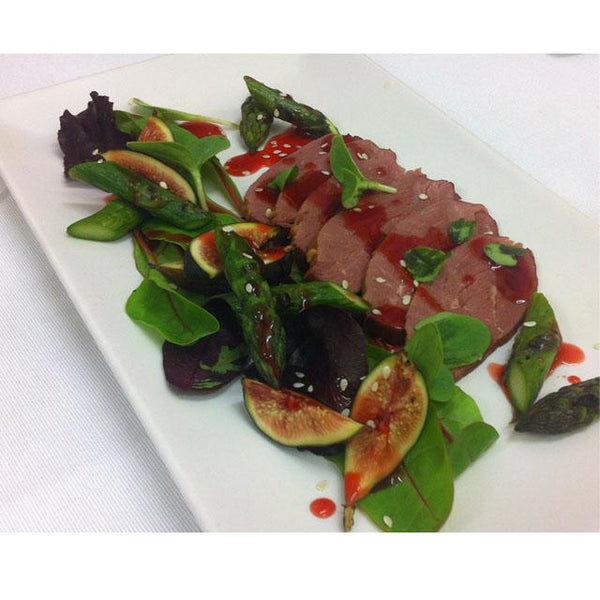 Smoked duck breast - English charcuterie
