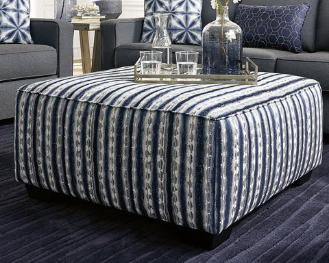 Kiessel Nuvella Benchcraft Oversized Accent Ottoman image