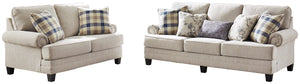 Meggett Benchcraft Sofa 2-Piece Upholstery Package