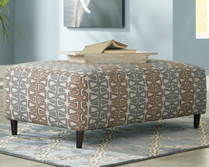 Flintshire Signature Design by Ashley Oversized Accent Ottoman image