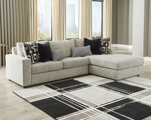 Ravenstone Signature Design by Ashley 2-Piece Sectional with Chaise