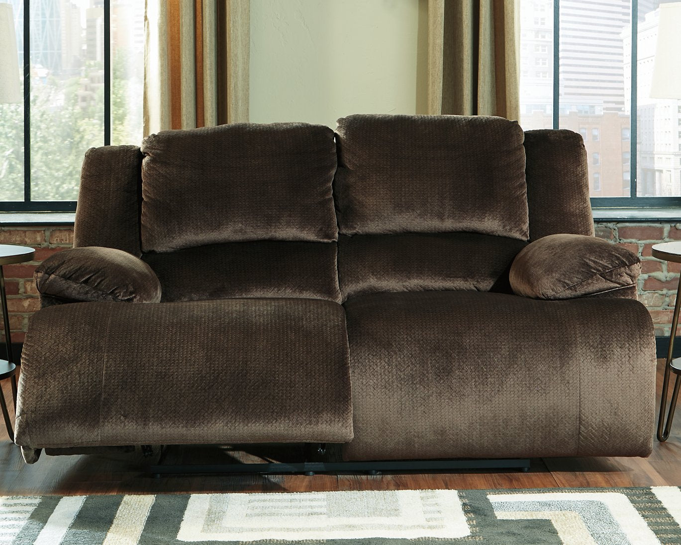 Clonmel Signature Design by Ashley Reclining Power Loveseat image