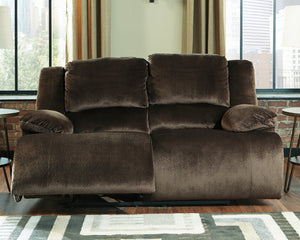 Clonmel Signature Design by Ashley Reclining Loveseat image